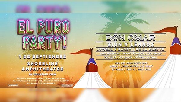 None - El Puro Party at Shoreline Amphitheatre!