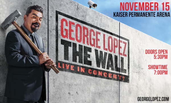 None - George Lopez at Kaiser Permanente Arena!