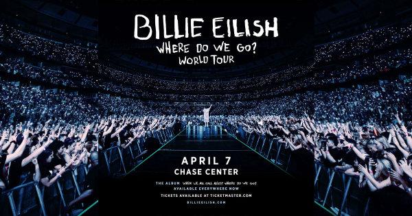image for Billie Eilish Where Do We Go? World Tour!