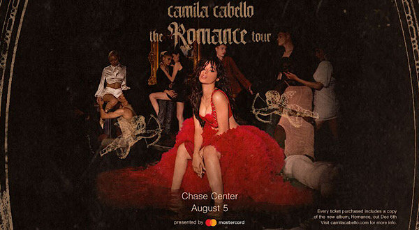 image for Camila Cabello Live at the Chase Center!! Win Your Tickets Here!