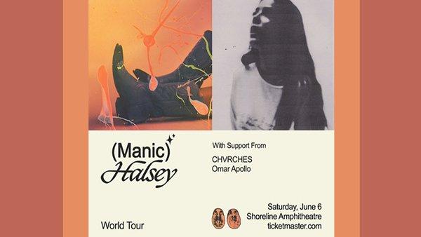 image for Halsey Manic Tour!
