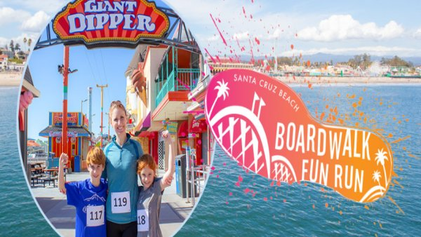 image for Santa Cruz Beach Boardwalk Fun Run