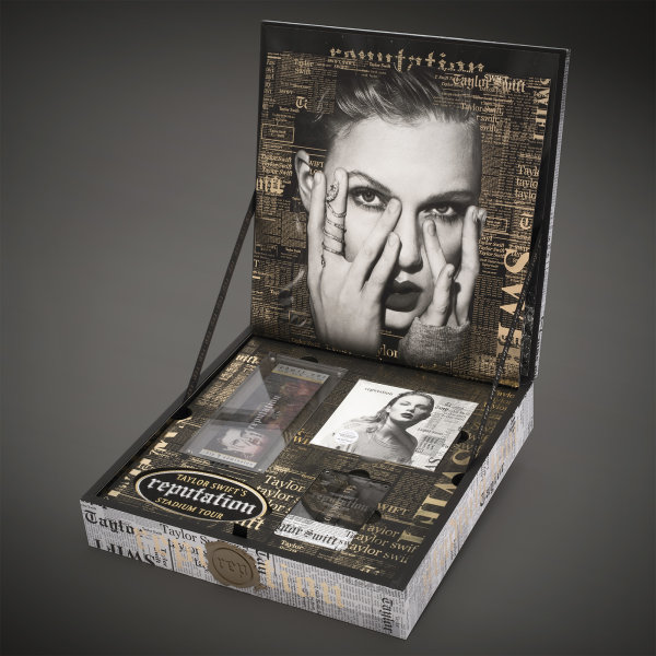 None - Taylor Swift Reputation Tour CD set and Swag Bag from Red Machine Records…