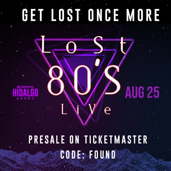 None - Lost 80's Live Tour