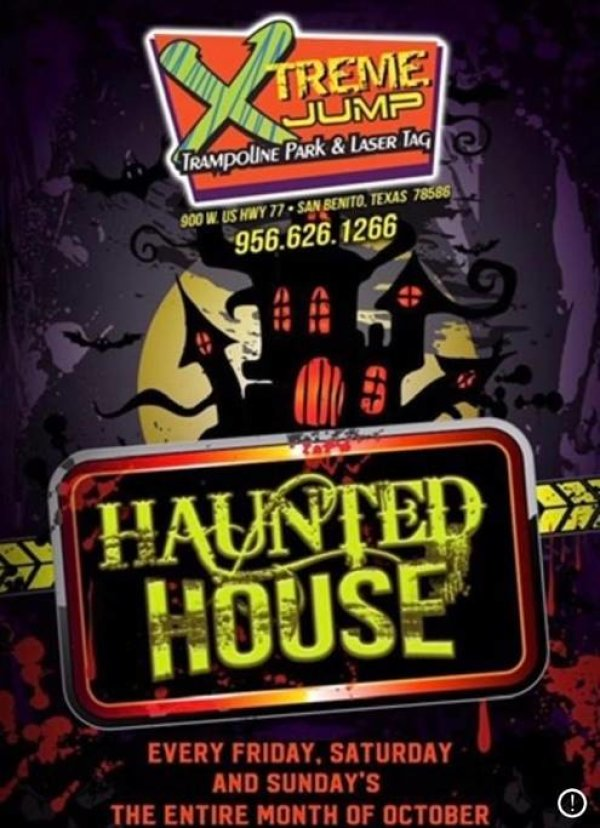 None - Xtreme Jump Haunted House