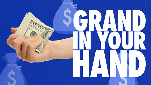 None - A Grand In Your Hand!