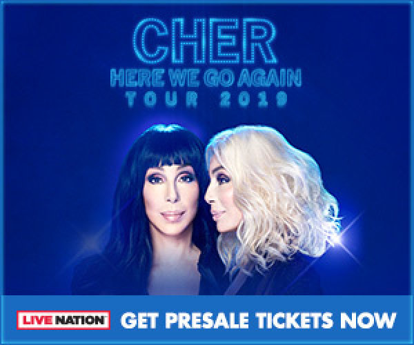 None - Win a Pair of Tickets to Cher Here We Go Again Tour