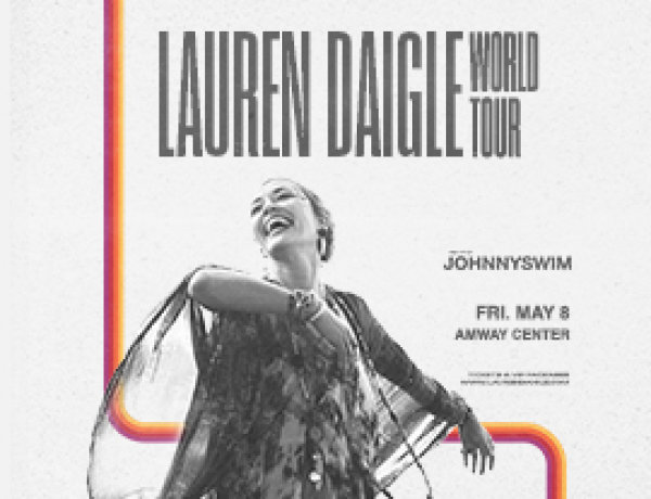 None - Enter for a chance to win a pair of tickets to see Lauren Daigle at Amway Center!