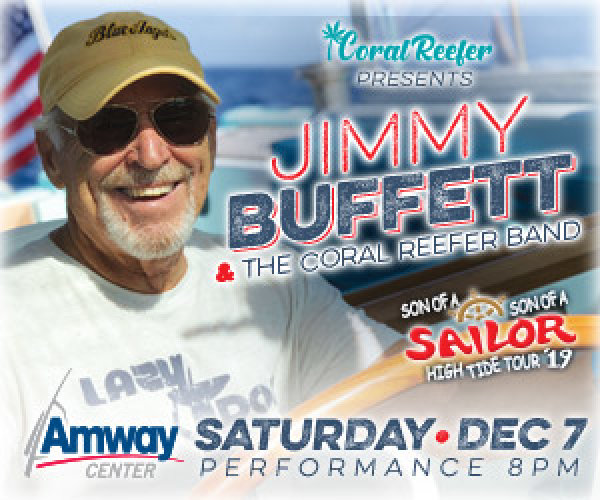 None - Enter for a chance to win a pair of tickets to see Jimmy Buffett at the Amway Center!