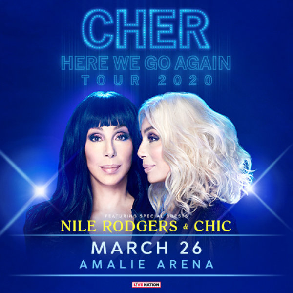 None - CHER AT AMALIE ARENA!