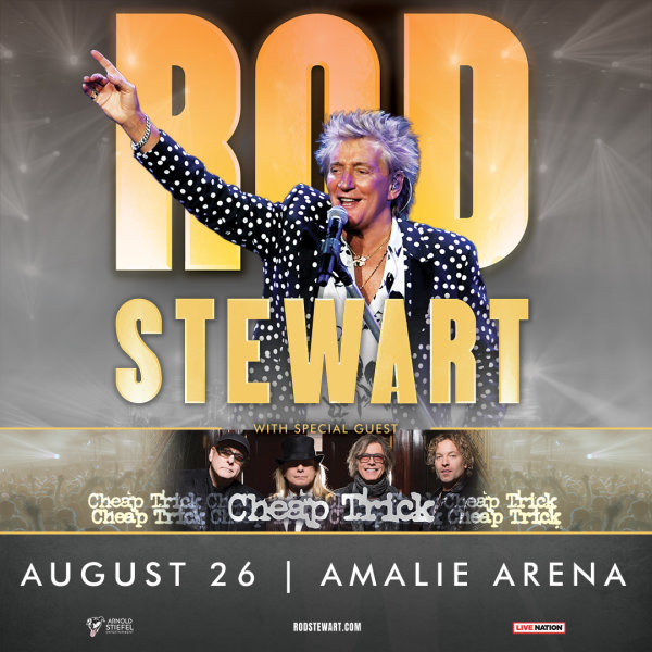None - Rod Stewart with special guest Cheap Trick