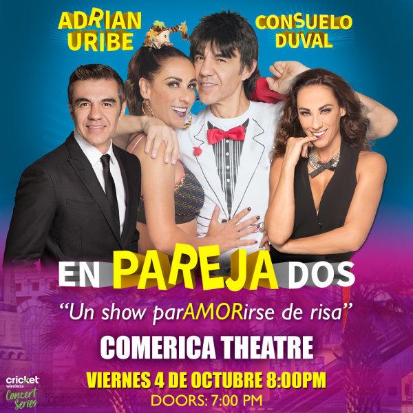 None - Gana Boletos Para Ver a EnParejaDos - con Adrian Uribe y Consuleo Duval!