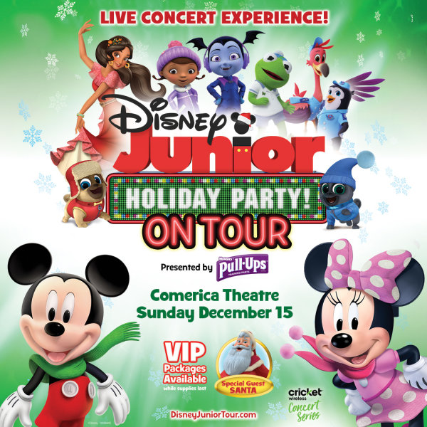 None - Gana Boletos Para Ver a Disney Junior Holiday Party!