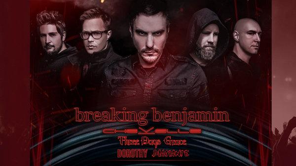 None - Breaking Benjamin LIVE!