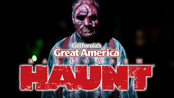 None - Halloween Haunt At California's Great America!