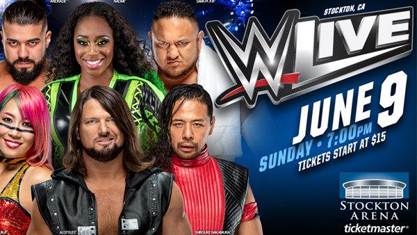 None - WWE Live At The Stockton Arena!