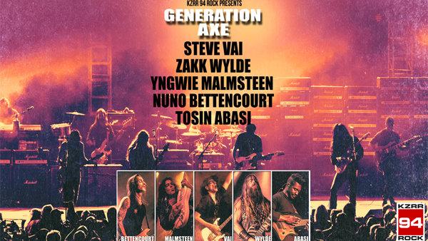 Win Generation Axe Tickets