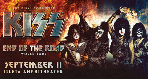 Win Tickets to see KISS at the Isleta Amphitheater!