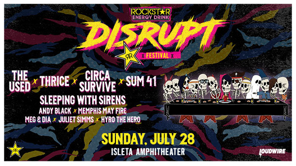Win Rockstar Energy Drink DISRUPT Festival Tickets