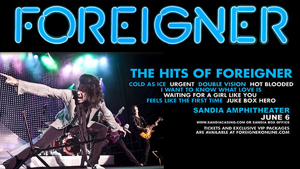 None - Win Foreigner Tickets