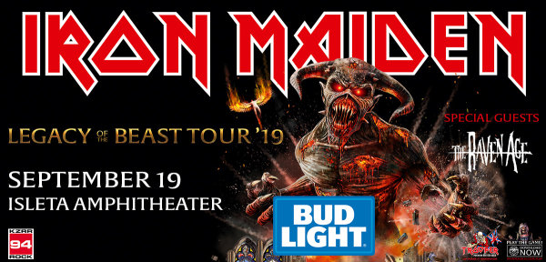 None - Win Tickets To See Iron Maiden On The Bud Light Party Deck