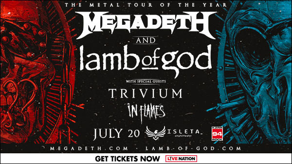 image for Win Megadeth & Lamb Of God Tickets