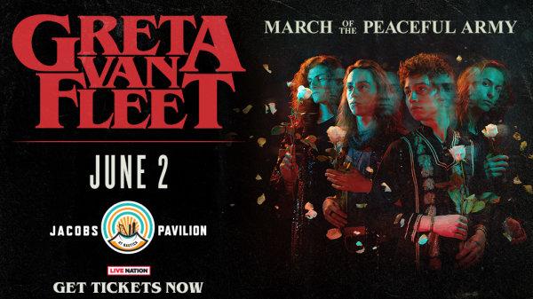 None - Win tickets to see Greta Van Fleet