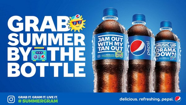 None - Grab Summer By The Bottle with Pepsi