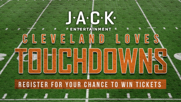 None - Win Cleveland Browns tickets courtesy of Jack Cleveland Casino