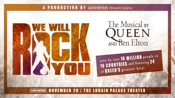 None - Win tickets to see We Will Rock You - The Musical on Tour