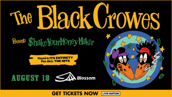 None - Win tickets to see The Black Crowes