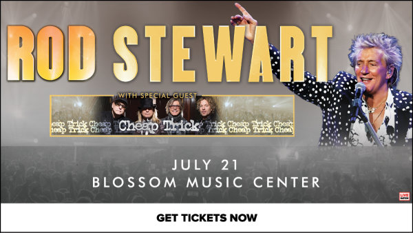None - Win tickets to see Rod Stewart and Cheap Trick