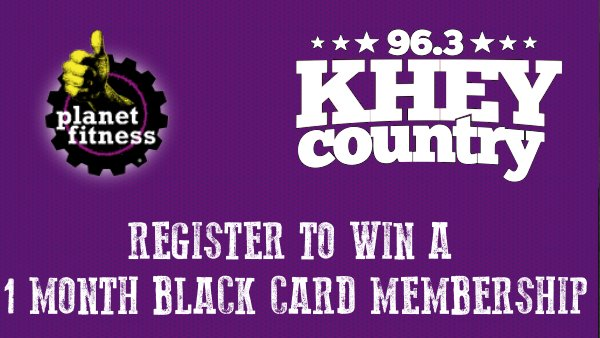 None - Win a one month Black Card pass to Planet Fitness!