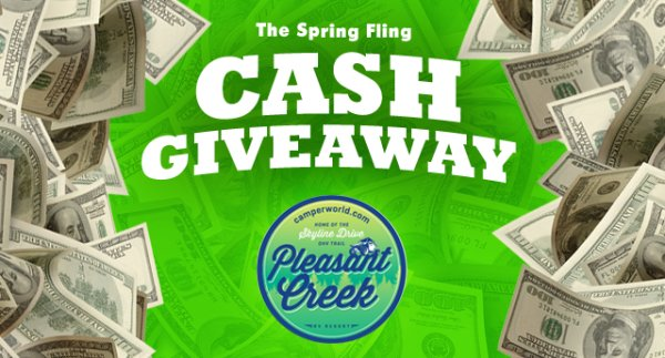 None -   Listen to Win $1,000 in The Spring Fling Cash Giveaway!