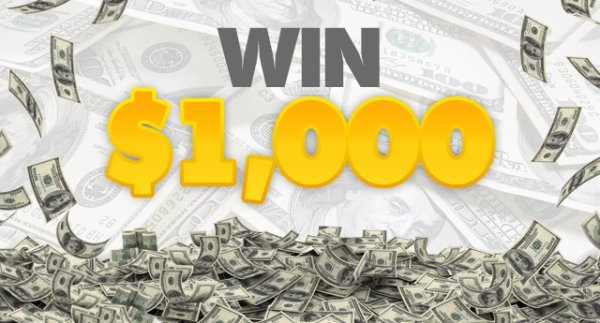 None - You Can Win $1,000 With Play to Pay!
