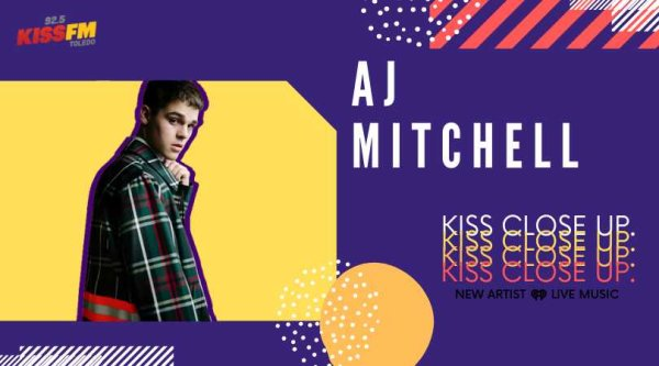 None -  KISS CLOSE UP with AJ MITCHELL!