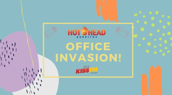 None - Win an Office Invasion with Hot Head Burrito!