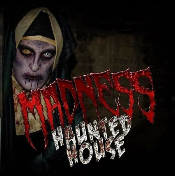 None - Register to win tickets to Madness Haunted House!