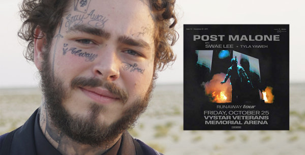 None - Win tickets to see Post Malone before you can even buy them