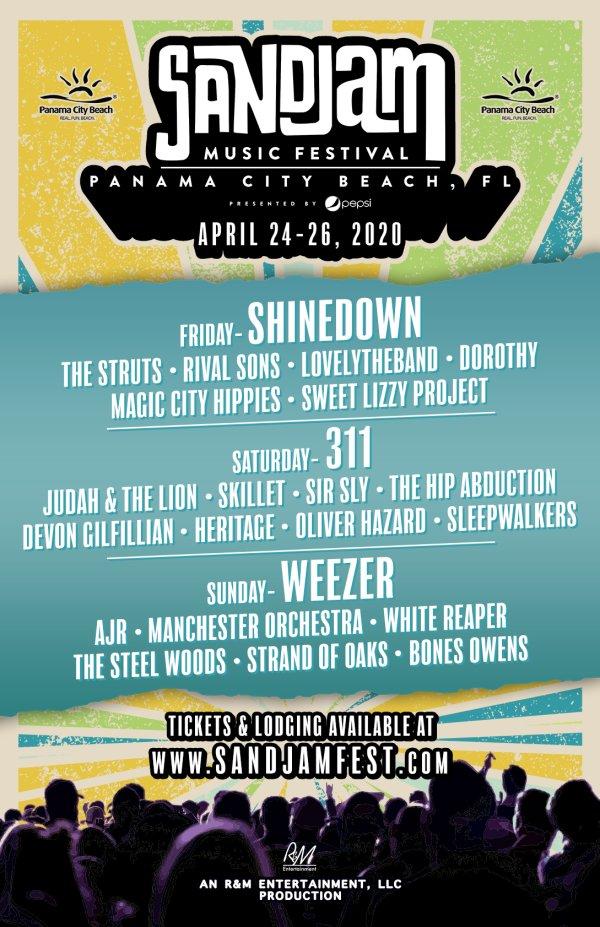 None - Sand Jam Music Festival 2020!