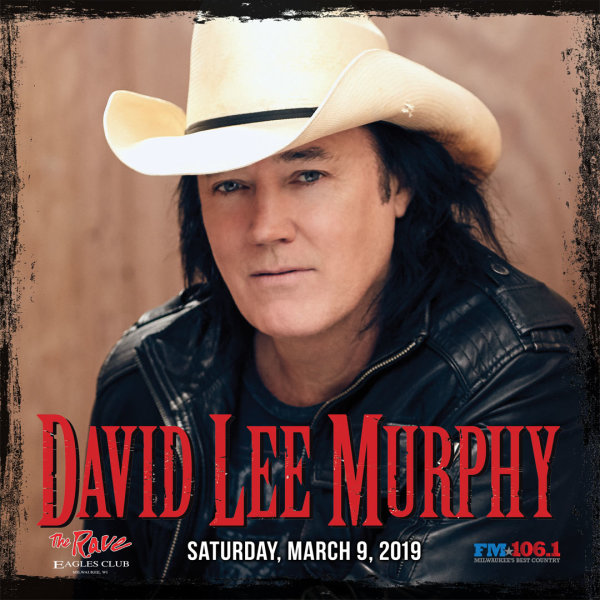 None -  Win tickets to see David Lee Murphy!