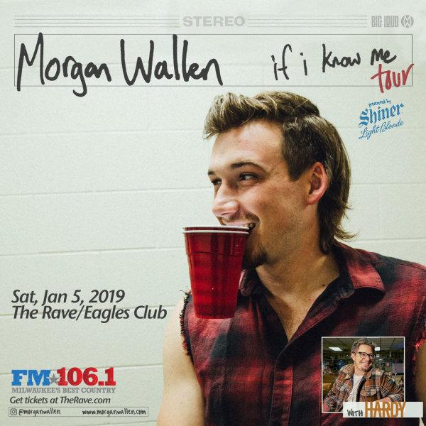 None - Win tickets to see Morgan Wallen