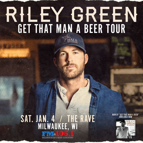 None - Win tickets to Riley Green