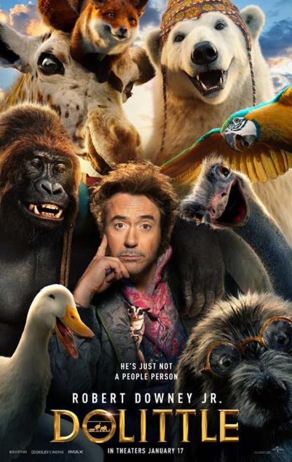 """None - Win passes to an AMC showing of """"DOLITTLE"""""""