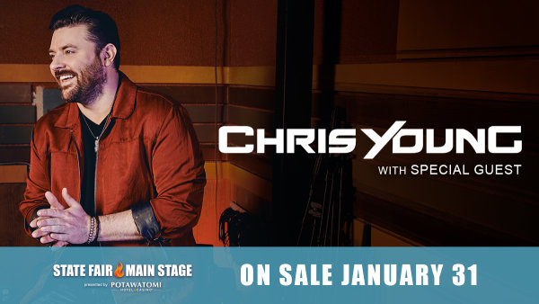 None - Win tickets to Chris Young at Wisconsin State Fair