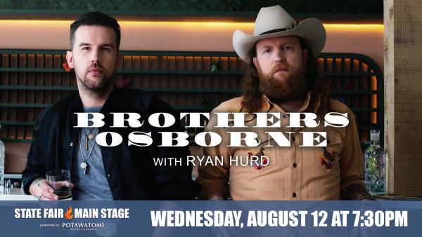 image for Win tickets to Brothers Osborne