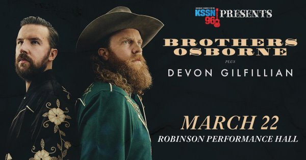 None - Brothers Osborne Ticket Giveaway!