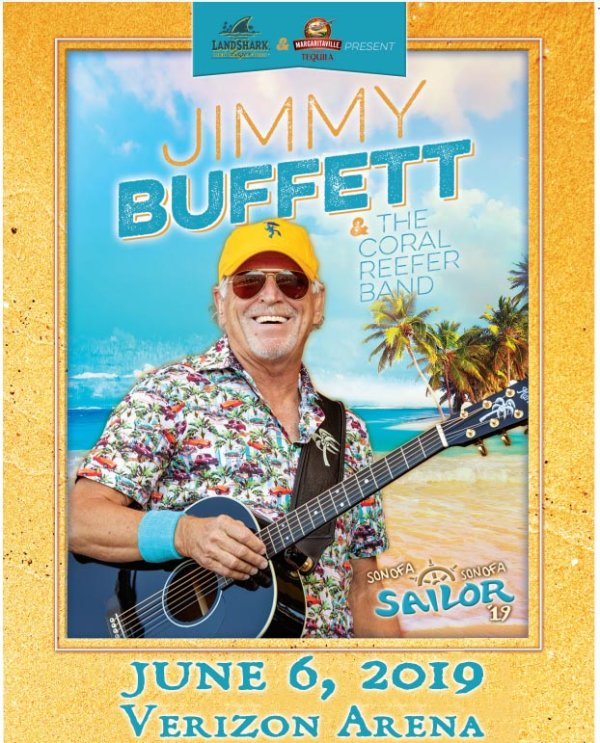 None - Win Jimmy Buffett Concert Tickets!