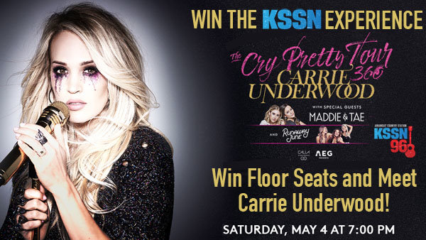 None -  Win The KSSN Experience with Carrie Underwood