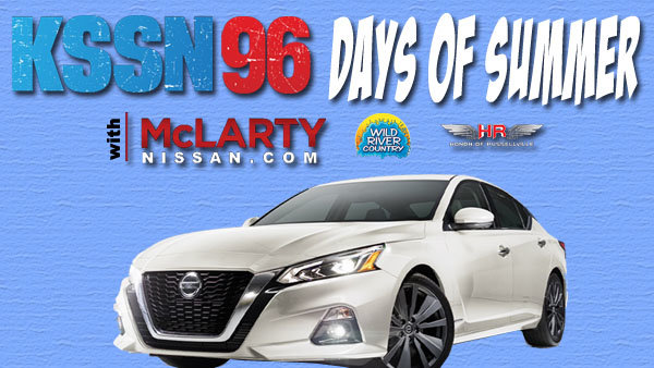 None -  The McLarty Nissan KSSN 96 Days Of Summer!
